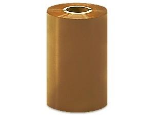 """Термотрансферная красящая лента (Золото) Риббон WAX Standart (Gold) 110*74 1/2"""" Out"""