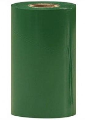 """Термотрансферная красящая лента (Зелёный) Риббон WAX Standart (Green) 110*74 1/2"""" Out"""