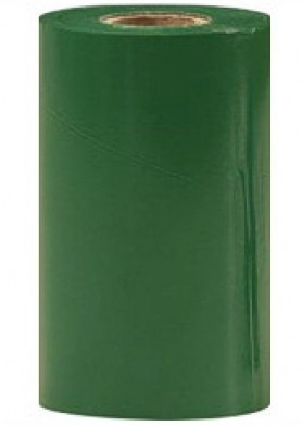 """Термотрансферная красящая лента (Зелёный) Риббон WAX Standart (Green) 57*74 1/2"""" Out"""