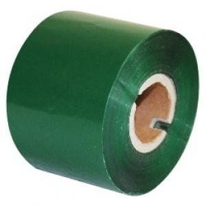 """Термотрансферная красящая лента (Зелёный) Риббон WAX Standart (Green) 60*300 1"""" Out"""