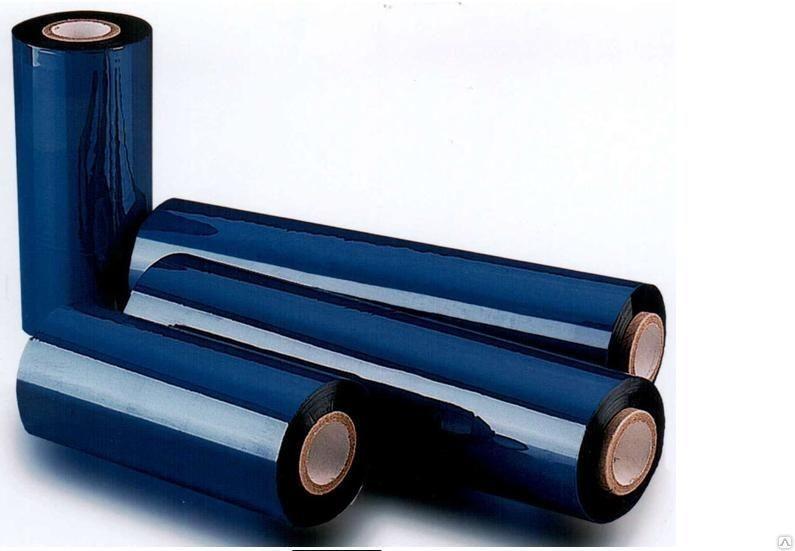 "Термотрансферная красящая лента Риббон Wax Standard 102*74 1/2""-110мм Out"
