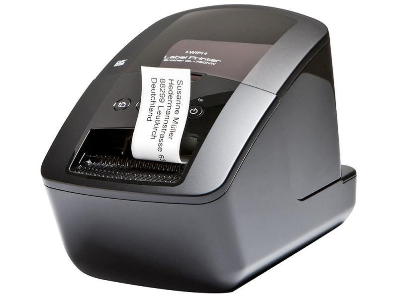 Принтер Brother QL-720NW 62 мм  USB/RS-232/Ethernet/WiFi