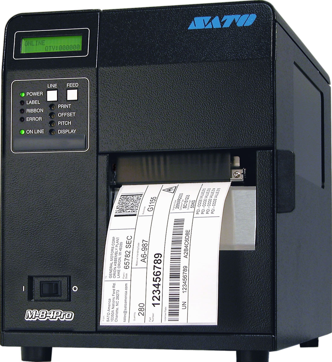 Принтер этикеток SATO M84Pro 600 dpi