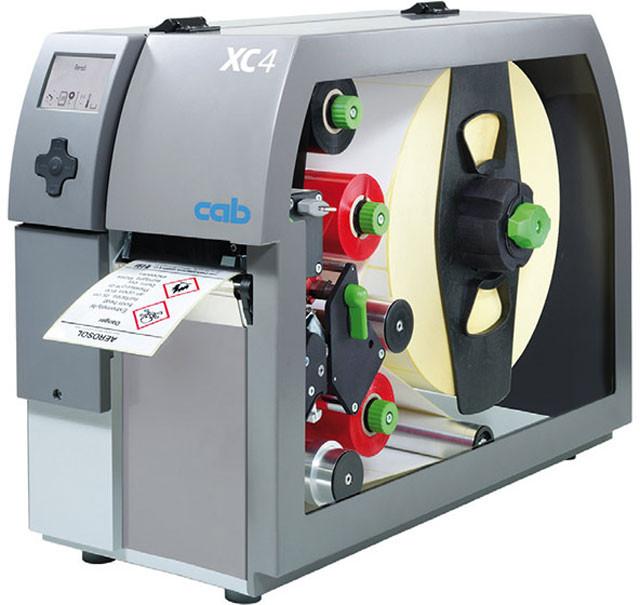 Двуцветный принтер этикеток CAB XC4 (300dpi)