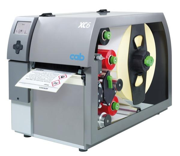Двуцветный принтер этикеток CAB XC6 (300dpi)