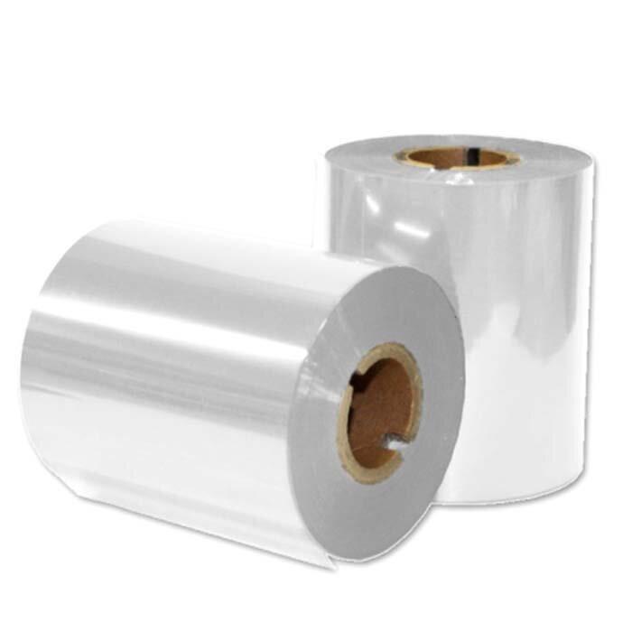 """Термотрансферная красящая лента, Риббон Resin (Белый) 55*74, вт. 1/2"""" Out"""