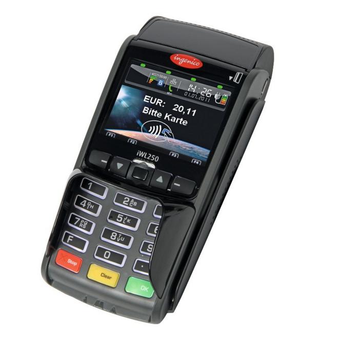 Отличный безналичный ВТБ24 Ingenico iWL250 GPRS