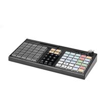 Программируемая клавиатура Атол KB-76-KU белая / черная c ридером магнитных карт на 1-3 дорожки
