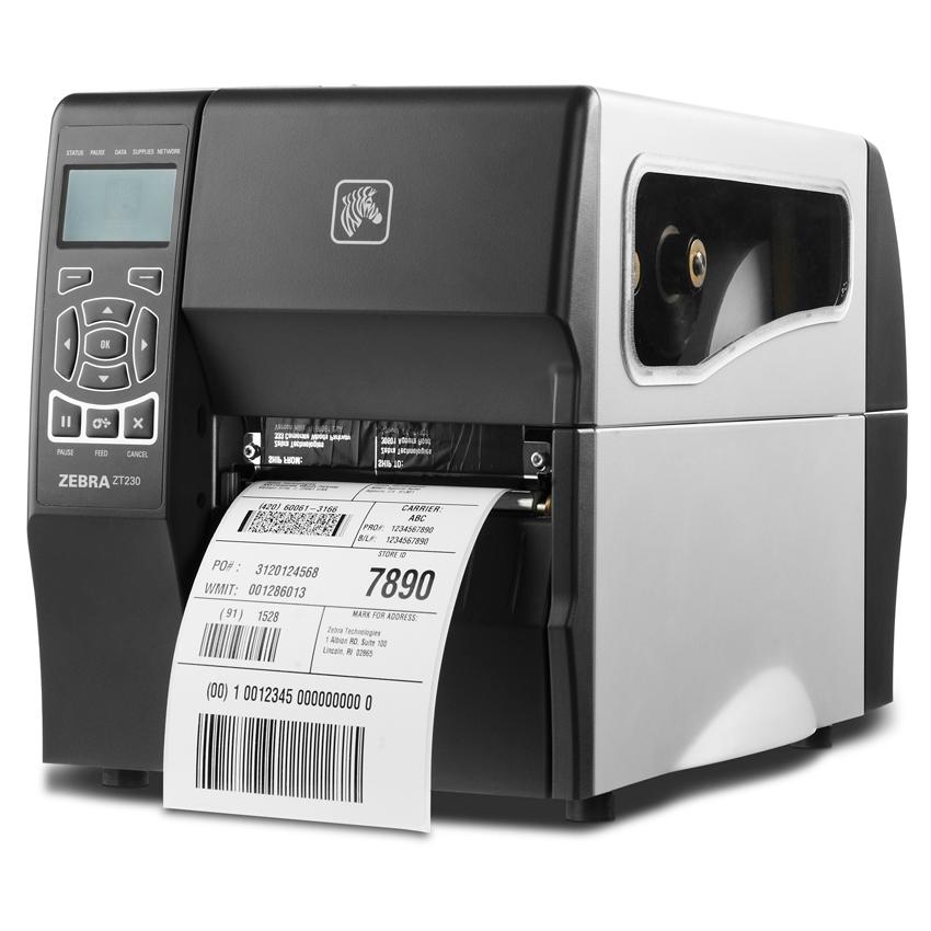 Принтер этикеток Zebra ZT230 Термотрансферный (203 dpi)