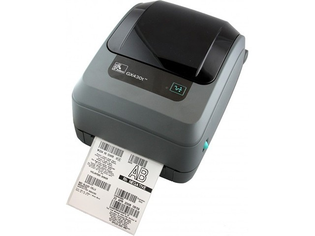 Принтер этикеток Zebra ZM600 (ZM600-200E-1000T) с ножом и накопителем