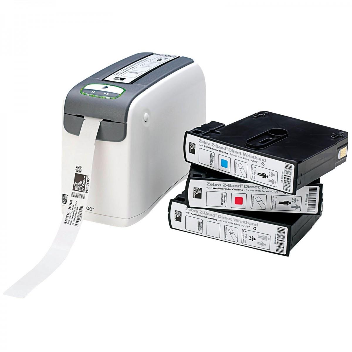 Принтер браслетов Zebra HC-100