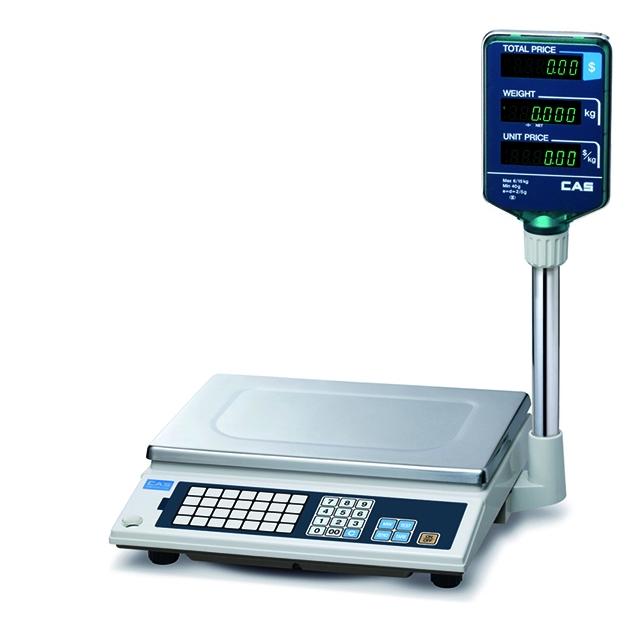 Электронные торговые весы CAS AP-1 6EX