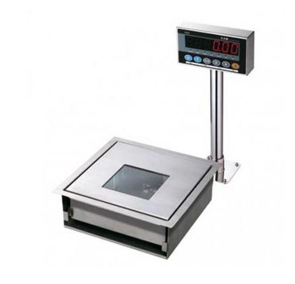 Торговые весы со встроенным сканером штрих-кода CAS PDS-15